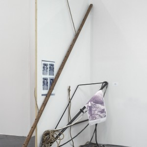 Installation view: Nora Schultz, »The Predicament of Culture«, 2008/2009, Open Space, Art Cologne, 22.04.09—26.04.09.