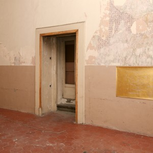 Installation View: »Danh Vo/Henrik Olesen«. Fondazione Morra Greco, 01.04.11—03.06.11.