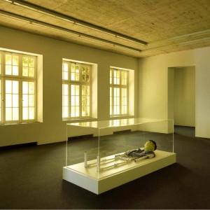Installation view: Jos de Gruyter & Harald Thys, »Das Loch«, Neuer Aachener Kunstverein, 27.05.11—10.07.11.