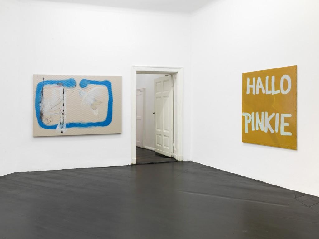 Installation view, Michaela Eichwald, IST DOCH KEIN ZUSTAND, Galerie Isabella Bortolozzi, Berlin, 2018