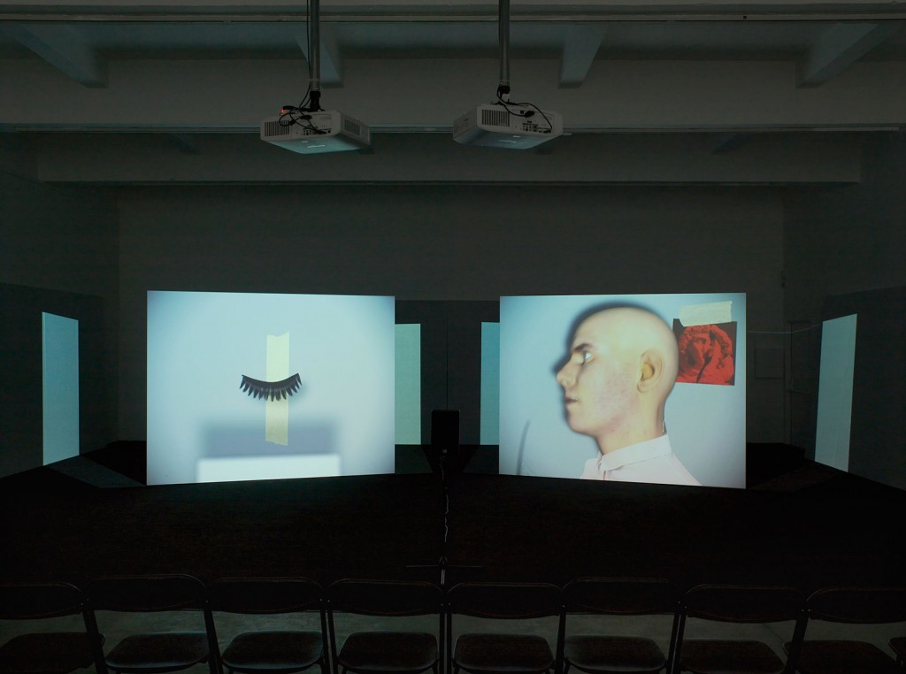 Installation View: »Us Talk Dead Love«, Chisenhale Gallery, London,  21.09.12—11.11.12