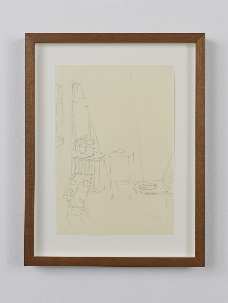 Juliette Blightman. »Fürstenberg, Donaueschingen«. 2013. Graphite on paper, framed. Unique.