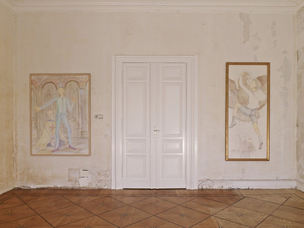 Pierre Klossowski. »The Immortal Adolescent II.« Installation view. Galerie Isabella Bortolozzi. 14.12.13—31.05.14