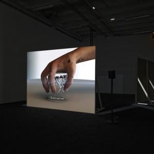 Installation view: Ed Atkins, 'Bastards', 06.06.14 - 07.09.14, Palais de Tokyo, Paris