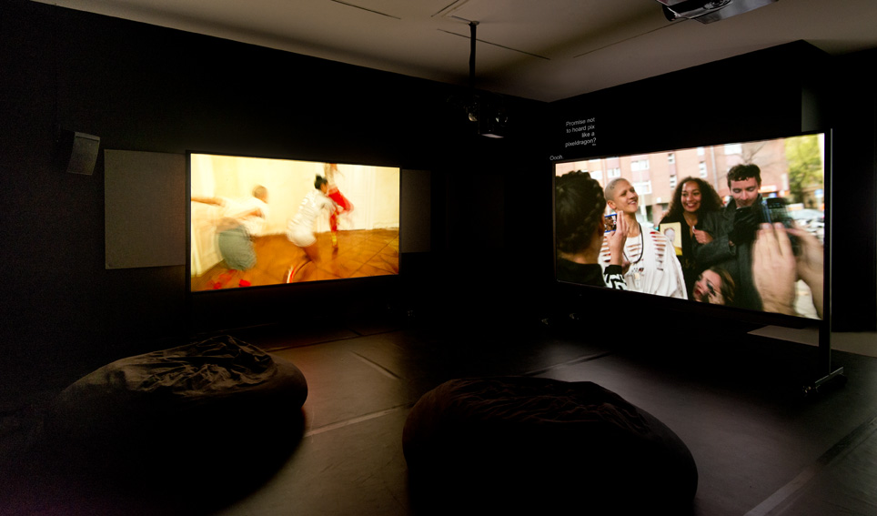 Installation view: Wu Tsang, »Wildness«, Made in L.A. 2014, Hammer Museum Biennale, Hammer Museum, Los Angeles, 15.06.14-07.09.14