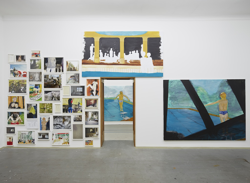 Juliette Blightman, »Come inside, bitte«, installation view,<br/>Eden Eden, Berlin, 14.02.15-04.04.15