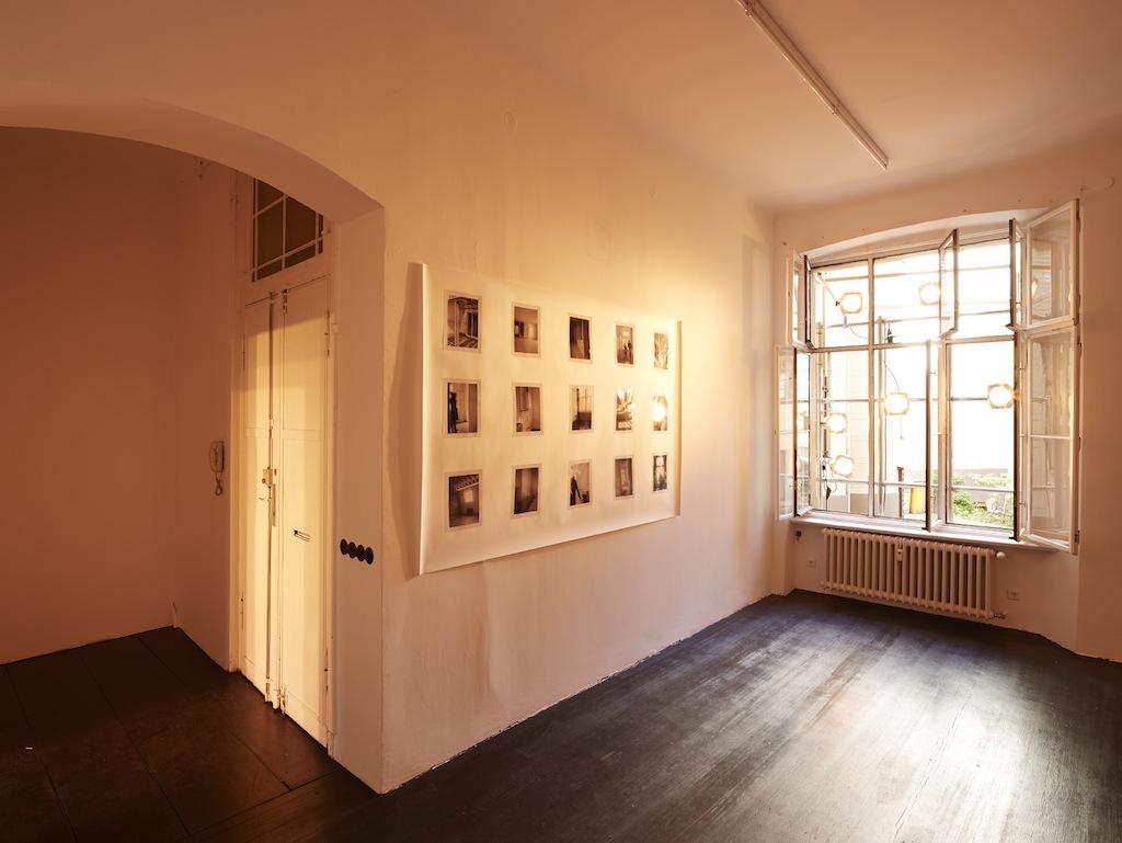 Calla Henkel & Max Pitegoff, »Schöneberger Ufer 00«, installation view, Galerie Isabella Bortolozzi, Berlin, 02.05.15—13.06.15