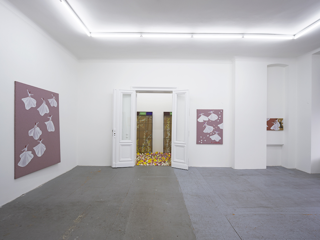 Aldo Mondino, 'Rules for Illusions', installation view, Eden Eden, Berlin, 29.04.15—19.09.15