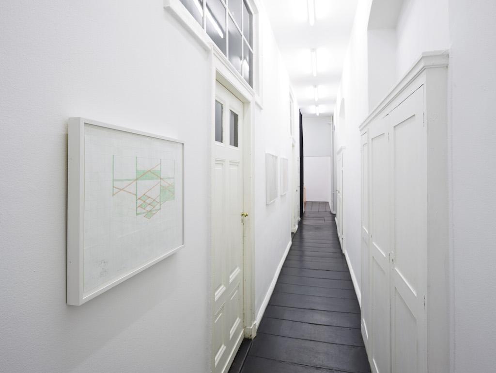 Richard Rezac, »Circum«, installation view,<br/>Galerie Isabella Bortolozzi, Berlin, 02.09.15–17.10.15