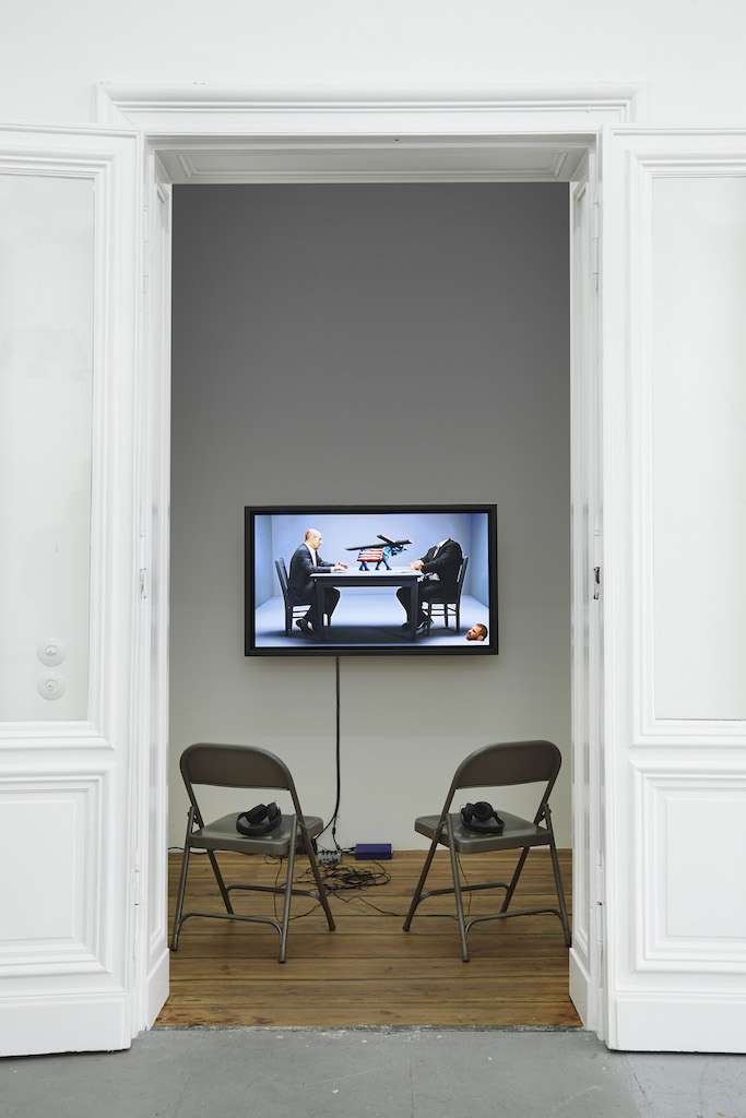 Bjarne Melgaard, »Untitled (Bjarne Melgaard Interviews Leo Bersani)«, 2011, digital video, duration: 98 min. 19 sec.