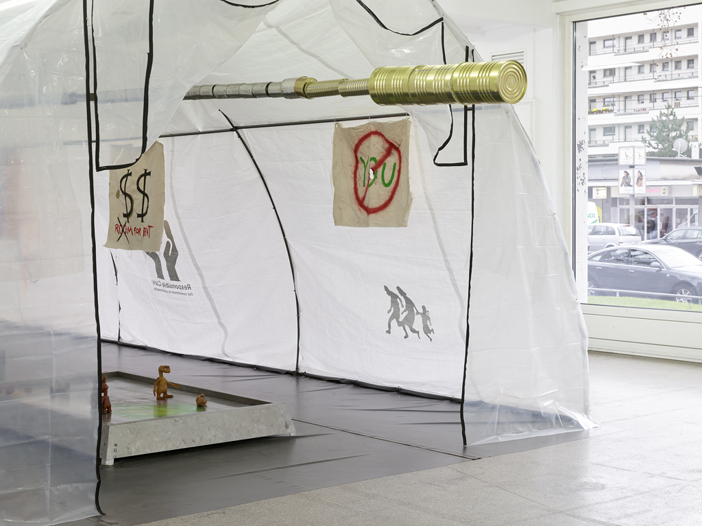 Installation view: »Or the Unpreparedness Prometheus and Pals«, Kölnischer Kunstverein, Köln, 15.11.15—20.12.15