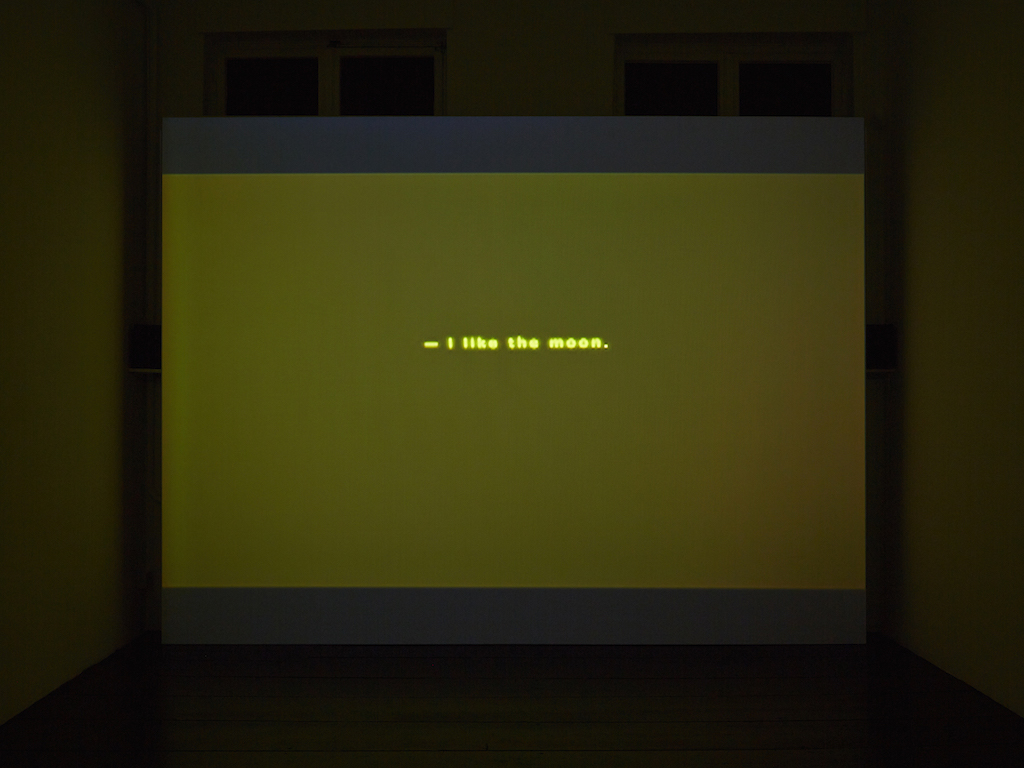 Steve Reinke, »Boy / Analysis: An Abridgment of Melanie Klein's ''Narrative of a Child''« (still from video), 2009, 5 min