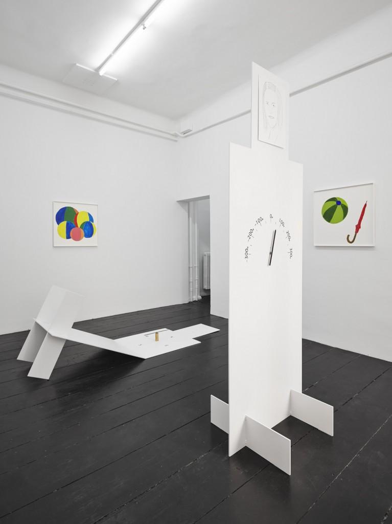 Jos de Gruyter & Harald Thys, 'Pantelleria' installation view,  <br>Galerie Isabella Bortolozzi, Berlin, 02.09.16-05.11.16