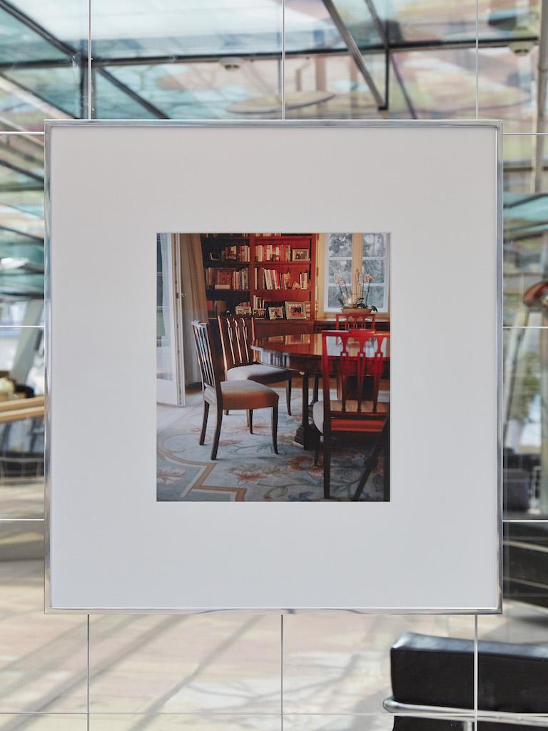 Calla Henkel & Max Pitegoff, »Interior 2«, 2016, archival inkjet print in aluminum frame, 77,5 x 72 cm