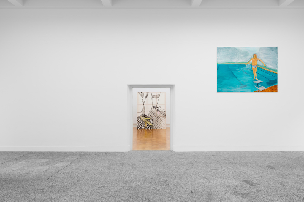 Juliette Blightman, »Extimacy«, installation view,<br/>Kunsthalle Bern, 24.09.16-13.11.16