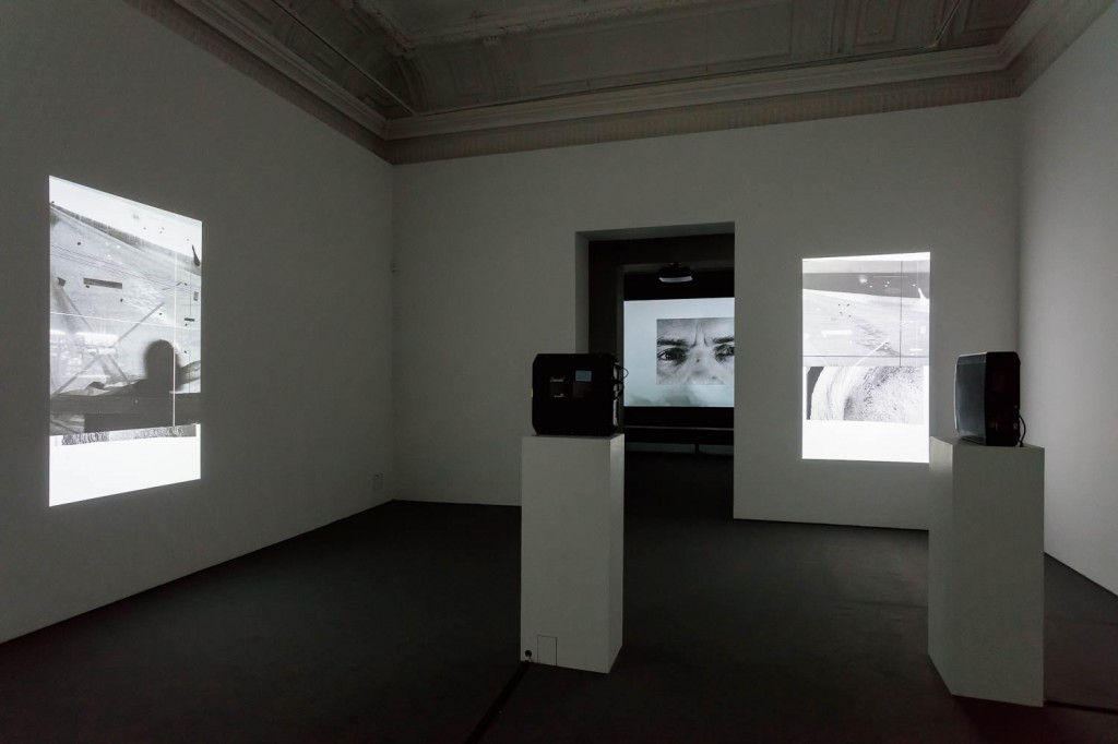 James Richards, Installation view, Radio at Night, Digital video, 8 min, 2015, ICA, London, 21.09.16—13.11.16