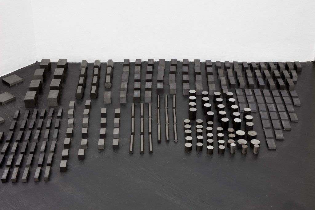 Detail view: Ibon Aranberri, Sources without qualities, 2017, Metal cabinet, steel elements, 224 × 182 × 40 cm, 2017, Unique,