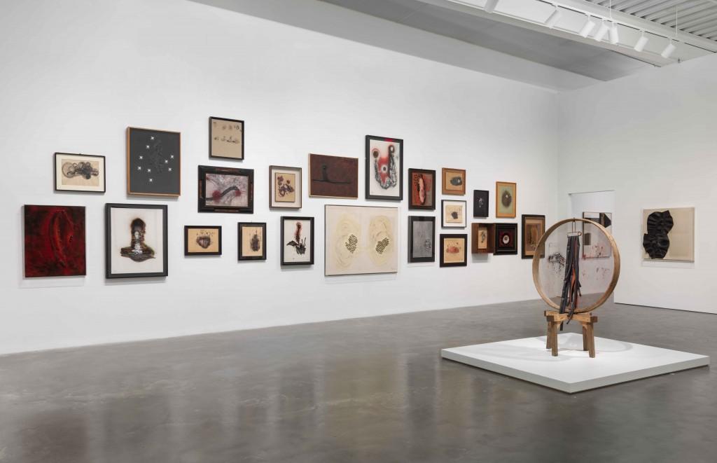 """""""Carol Rama: Antibodies,"""" 2017. New Museum, New York. 26.04.17-10.09.17 Photo: Maris Hutchinson"""