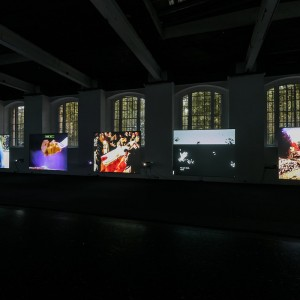 Installation view, Seth Price Circa 1981, Institute of Contemporary Arts, London, 04.11.17-07.01.18 Photo: Mark Blower