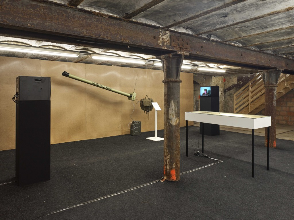 Installation view, Jos de Gruyter & Harald Thys, The Absent Museum at WIELS, Brussels, 20.04.17 -13.08.17 Photo by Kristien Daem.