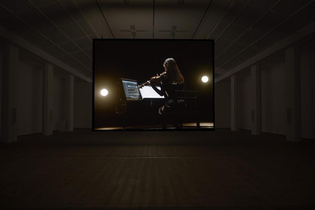 Installation view Susan Philipsz, A Single Voice 2017, BALTIC Centre for Contemporary Art, Gateshead 20.10.2017—04.03.2018 Photo: John McKenzie