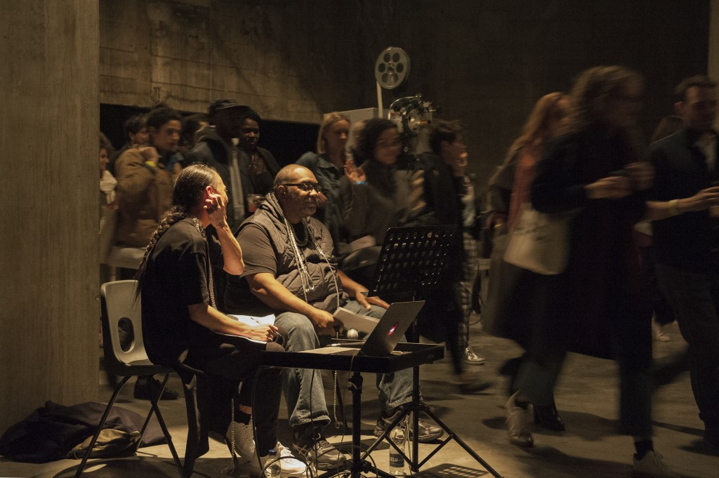 Who Touched Me? Fred Moten and Wu Tsang. As part of BMW Tate Live Exhibition: Ten Days Six Nights, Tate Modern. 25 March 2017