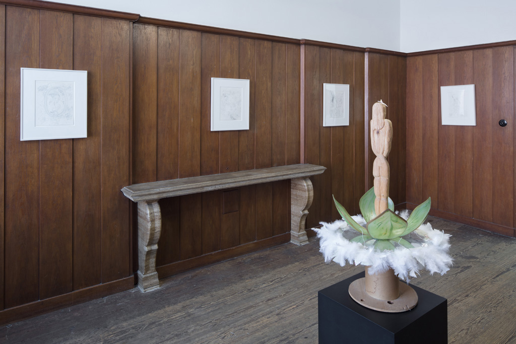 Installation view, My Perversion is the Belief in True Love, Galerie Isabella Bortolozzi, Berlin, 2018