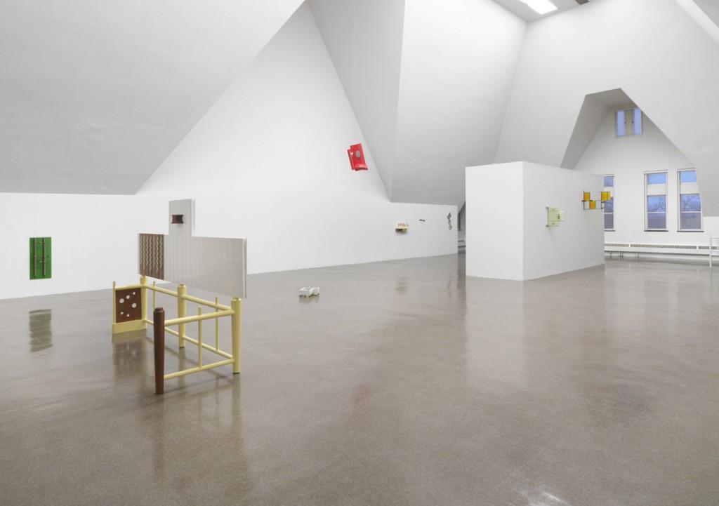 Installation view, Richard Rezac, Address, The Renaissance Society, 2018