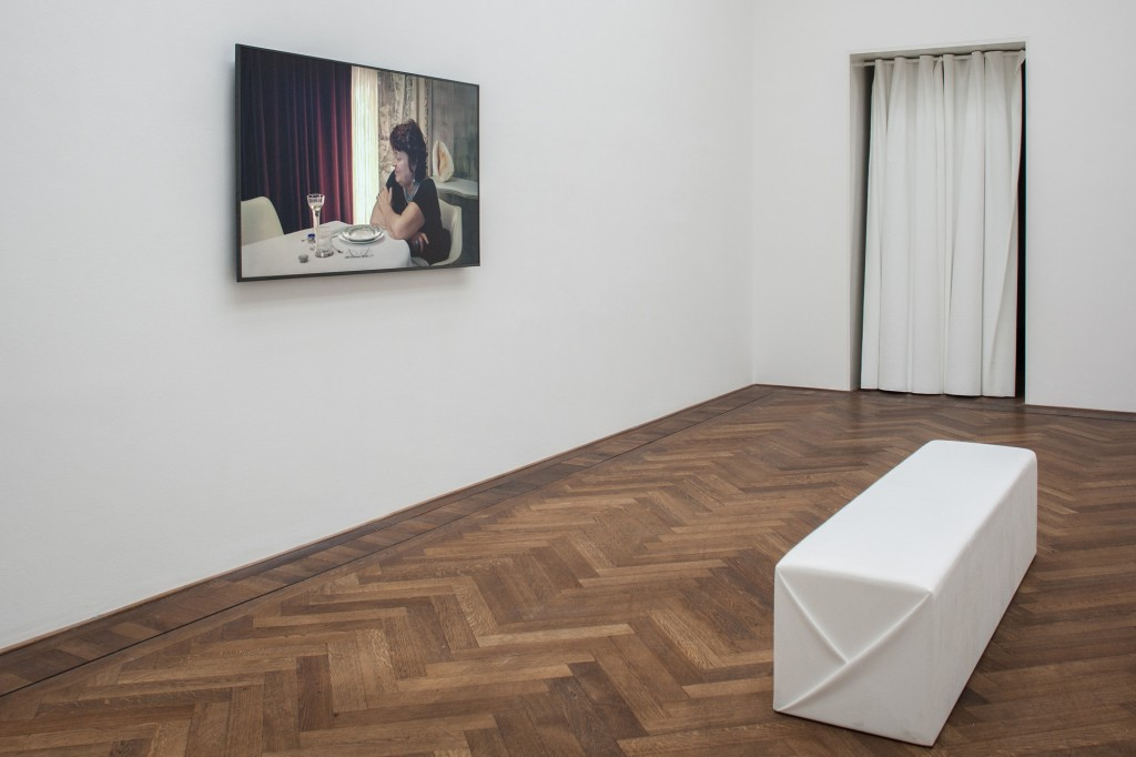 Installation view, Yuri Ancarani, Sculture, Kunsthalle Basel, 2018