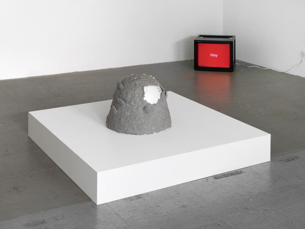 Installation view, Hannah Black, Aeter, Galerie Isabella Bortolozzi, Eden Eden, Berlin, 2018-19