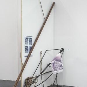 Installation view: Nora Schultz, »The Predicament of Culture«, 2008/2009, Open Space, Art Cologne, 22.04.09—26.04.09.