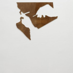 Seth Price, »Affairs (smoking)«, 2009. Mixed media, 94 x 137 x 2 cm.
