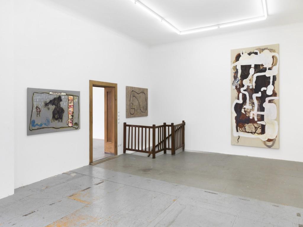 Installation view, Michaela Eichwald, IST DOCH KEIN ZUSTAND, Eden Eden, Berlin, 2018