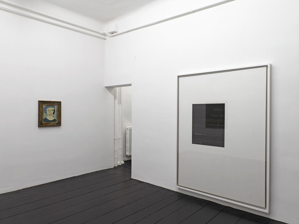 Installation view: »Spazio Anche Piu Che Tempo«, A selection of works by Carol Rama from the 1930s to the 1980s, Isabella Bortolozzi Galerie, Berlin, 12.09.12—13.10.12