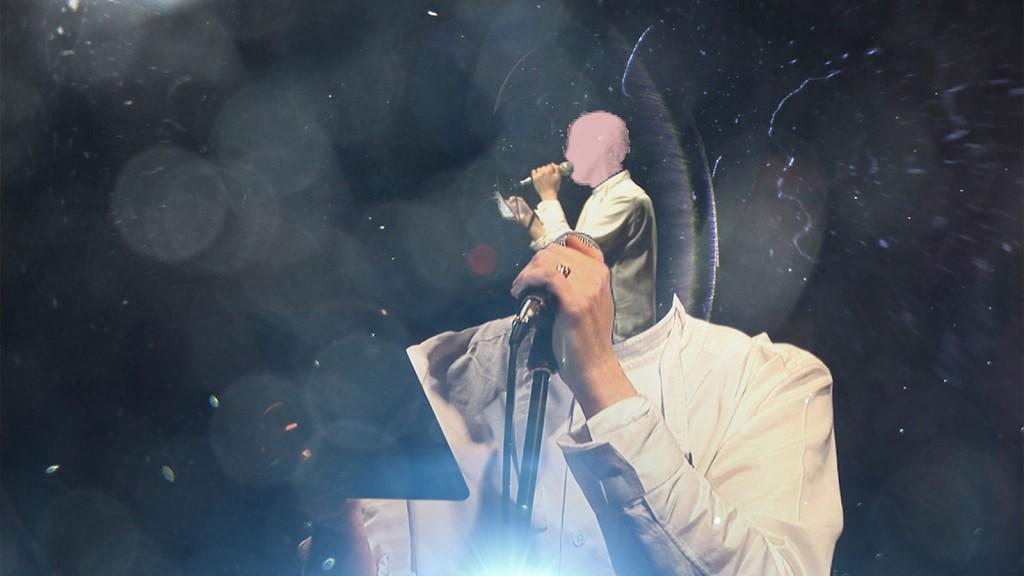 Ed Atkins, »Or Tears, Of Course«, 2013. Temple Bar, Dublin.
