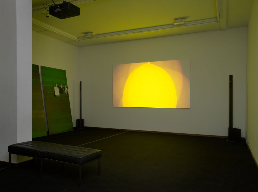 Installation View: Ed Atkins, »Death Mask«, Cabinet, London.