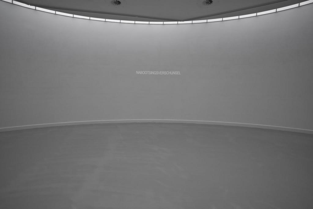 Installation view: Jos de Gruyter & Harald Thys. OPTIMUNDUS, M HKA, Antwerpen, 08.02.2013–19.05.2013.