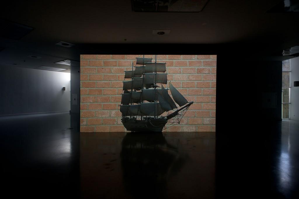 Jos de Gruyter & Harald Thys. »Die Fregatte«. 2008. video. duration: 20 minutes