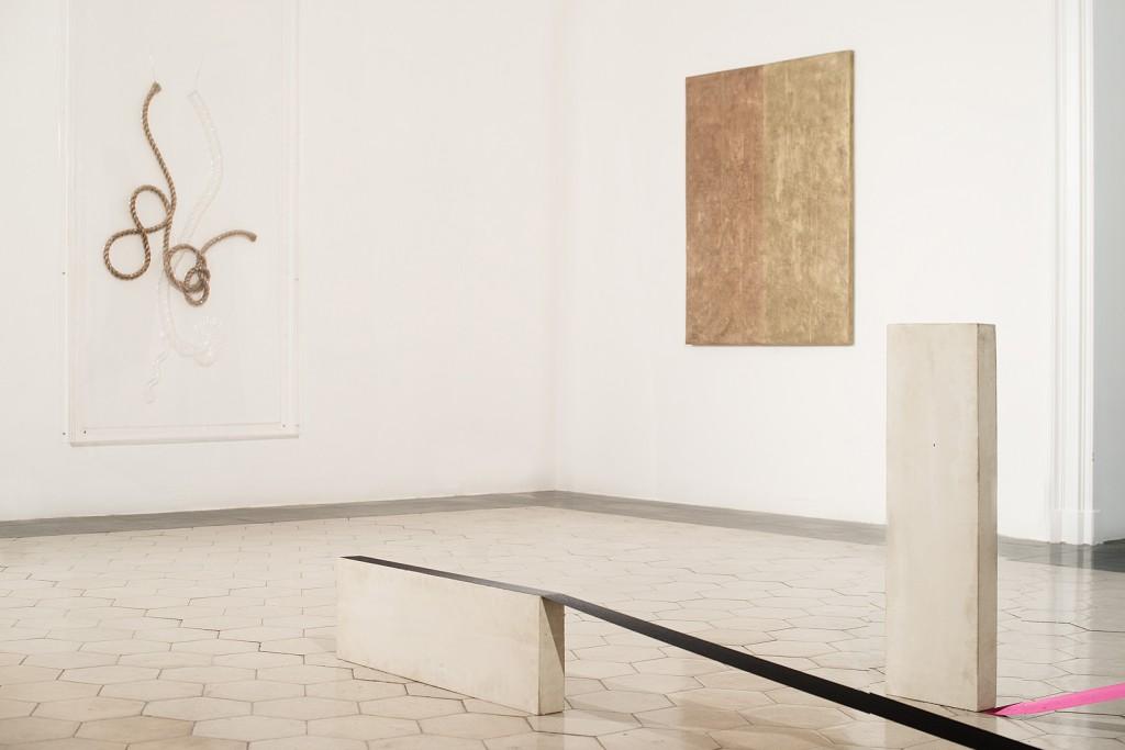Seth Price. »Untitled«. 2009. Installation view.