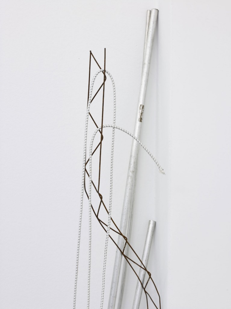 Nora Schultz. »The tripod's escape«. 2013. Mixed media. Dimensions variable. Unique.