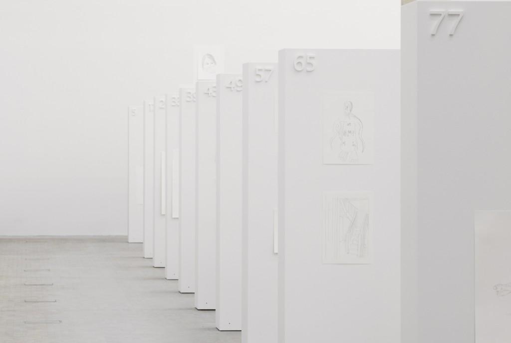 Jos de Gruyter & Harald Thys. »Untitled«. 2010. 500 Drawings. Unique.