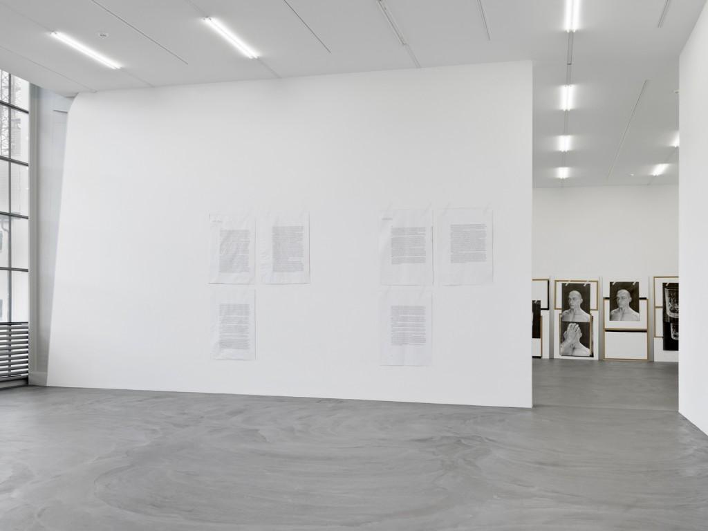 Ed Atkins. »Ed Atkins«. Installation view. Kunsthalle Zürich. 2014.