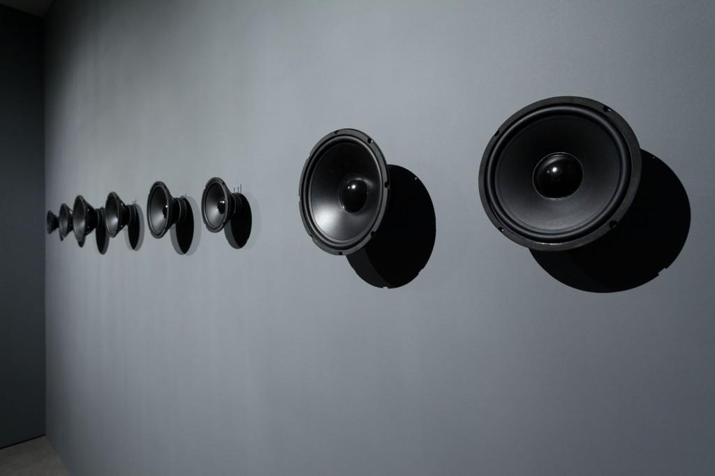 Susan Philipsz. »Study For Strings«. 2012. Installation view. Sound Installation.