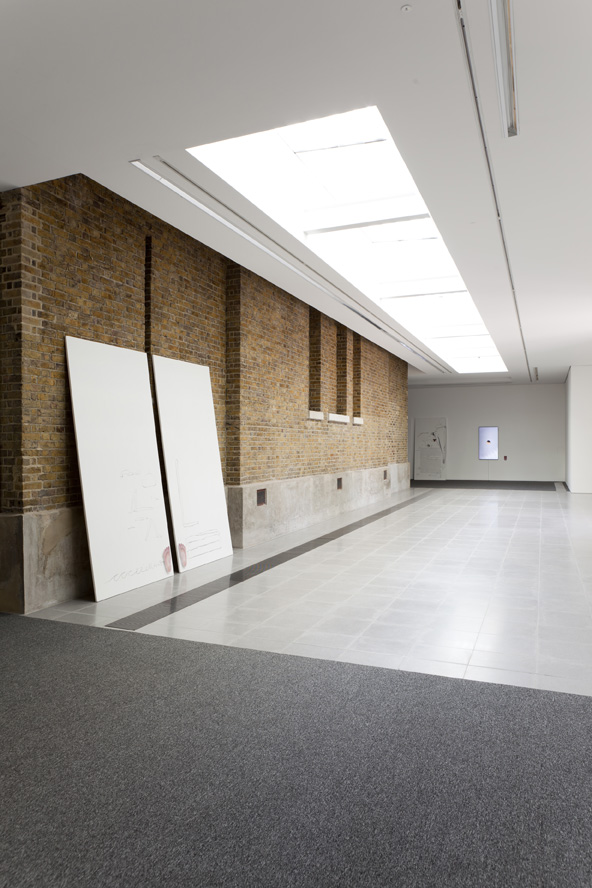 Installation view: Ed Atkins, Serpentine Sackler Gallery, London