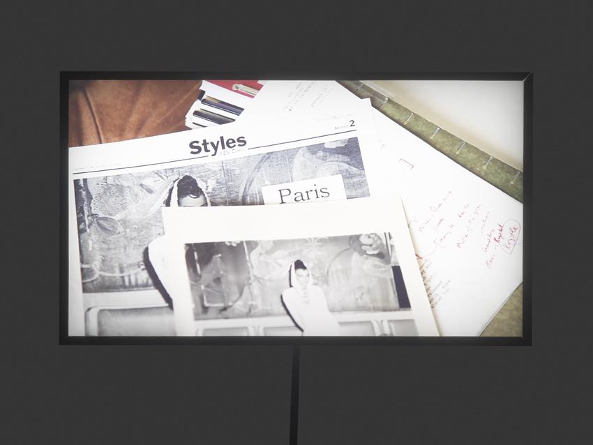 Wu Tsang, »Paris has Burned«, 2012/14, Digital print in lightbox