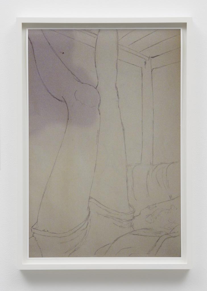 »Eden Eden Eden«, 2015, Archival pigment print, Framed: 46 x 32 cm