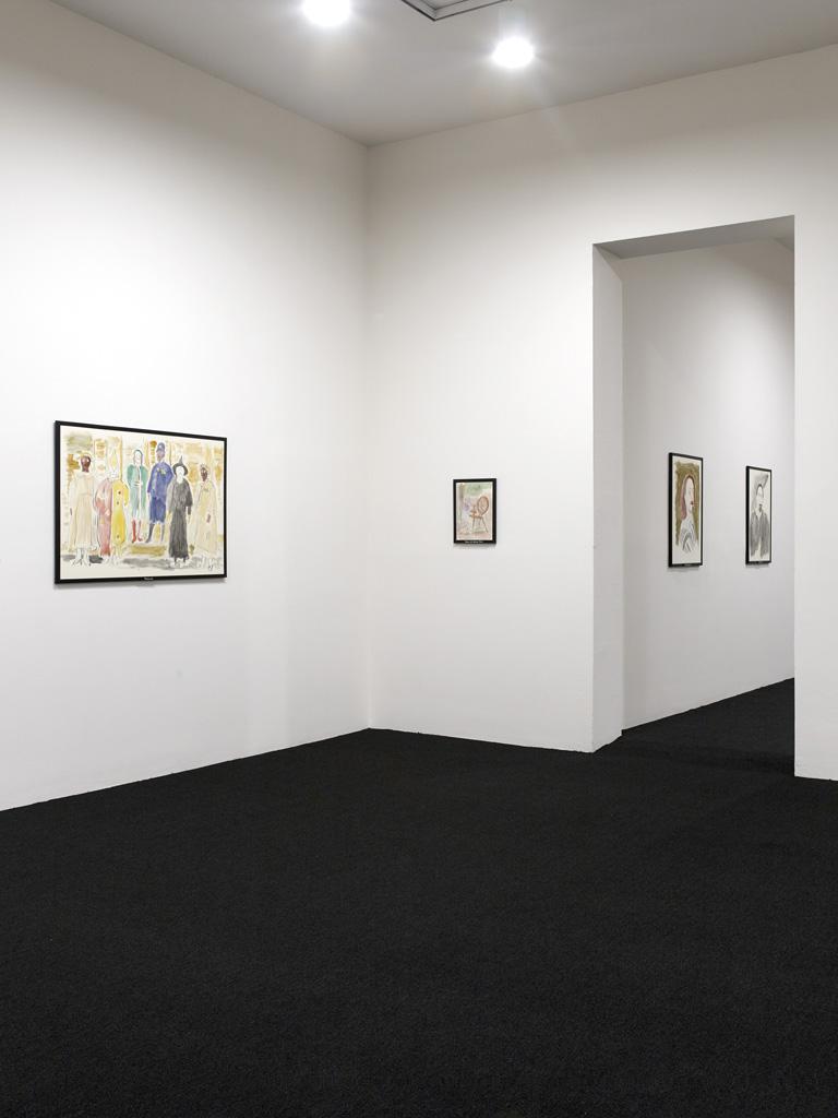 Jos de Gruyter & Harald Thys, 'Fine Arts',<br>Installation view, Moma PS1, New York, 03.05.15 - 31.08.15