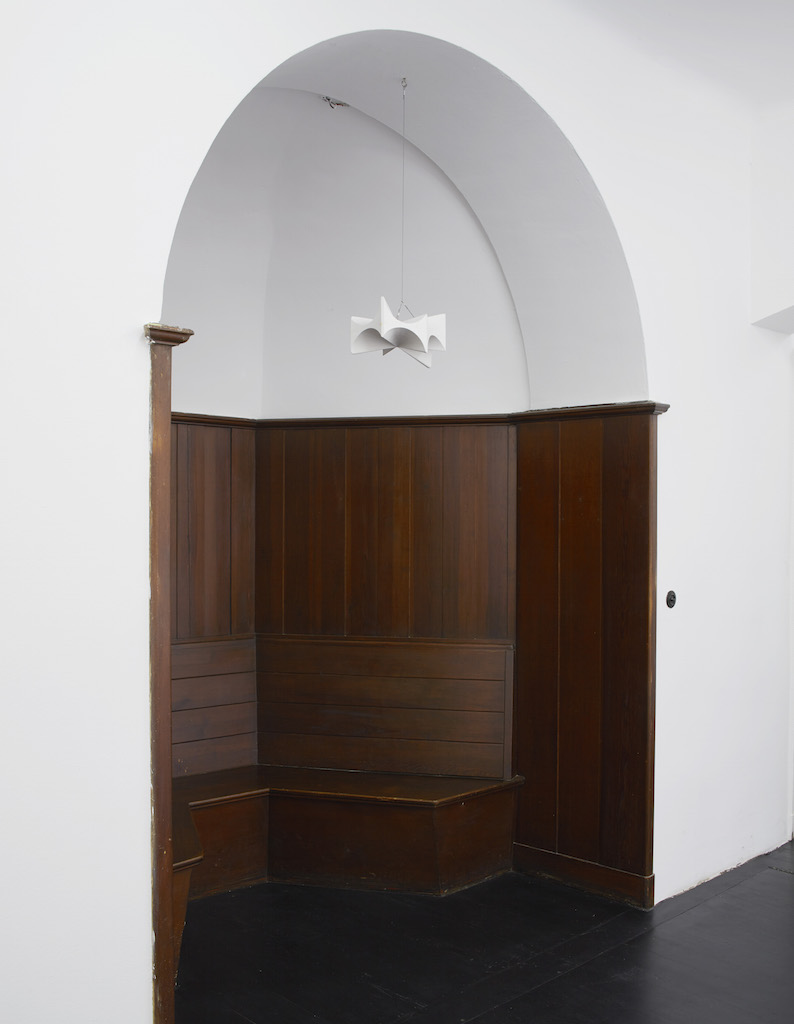 Richard Rezac, »Vault«, 1995, plaster and wood, 17.78 x 50.8 x 27.94 cm, unique