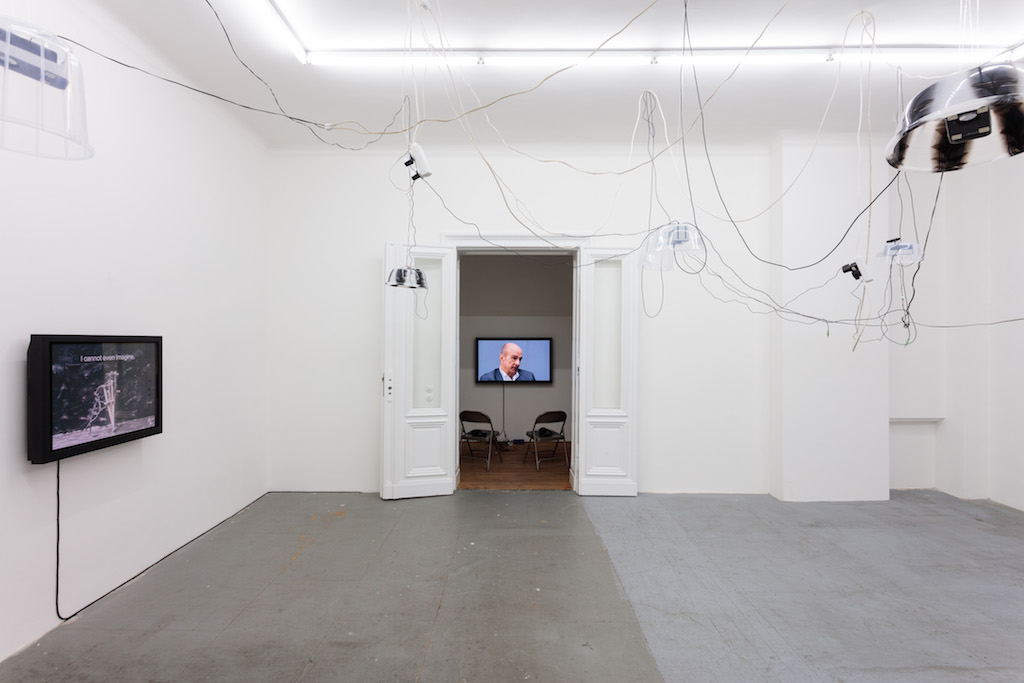 »Rum, Sodomy and the Lash«, installation view, Eden Eden, Berlin, 20.10.15—16.01.16