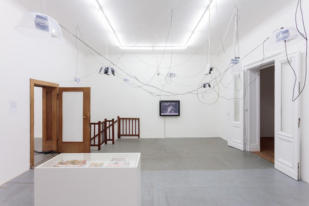 »Rum, Sodomy and the Lash«, installation view, Eden Eden, Berlin, 20.10.15—16.01.16